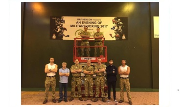 AFI Support Armed Forces Charity Boxing Evening