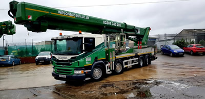Wilson Access invests in 75m truck mounted platform from Palfinger